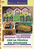 DECORAR FELPUDOS CON LA TECNICA DEL ESTARCIDO