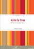 ANTE LA CRUZ - MEDITAR EL EVANGELIO VOL2