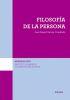 FILOSOFIA DE LA PERSONA (ISCR 15)