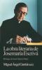 LA OBRA LITERARIA DE JOSEMARIA ESCRIVA. 1