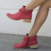BOTIN CORREAS BC BREAK ROJO