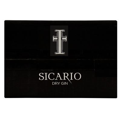 Caja de 6 Sicario Dry Gin3