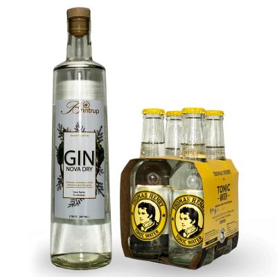 Pack Gin Nova Dry + 4 Tónicas Thomas Henry1