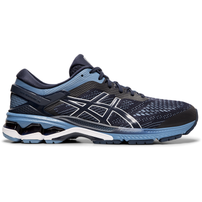 Asics - Gel Kayano 26 Midnight/Grey Floss - Pronador - Hombre