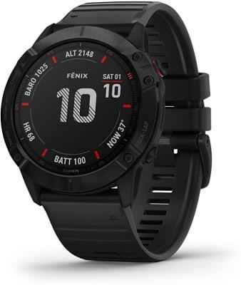 GARMIN - Reloj Fenix 6X Pro - Negro/Band Black