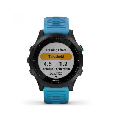 Reloj - Garmin Forerunner 945 Tri-bundle (Negro con Correa Sport Azul)