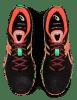 Asics - Gel Noosa Tri 12 - Black/Flash Coral - Hombre - Neutro/Pronador 5