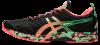 Asics - Gel Noosa Tri 12 - Black/Flash Coral - Hombre - Neutro/Pronador 2