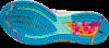 Asics - Gel Noosa Tri 12 - Safety Yellow/Aquarium - Mujer - Neutro/Pronacion 7
