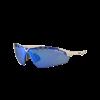 Lentes para Running - EASSUN - X-LIGHT SPORT - Marco Blanco - Lentes Azul espejo Cat: 3 - Peso 15gr