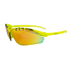 Lentes para Running - EASSUN - X-LIGHT SPORT - Marco Amarillo fluor - Lentes Rojo revo Cat: 3 - Pes