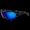 Lentes para Ciclismo - EASSUN - EPIC - Marco Negro mate - Lentes Azul revo Cat: 3 - Peso 30gr - Tal