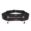 Cinturón porta objetos, porta geles y porta número - Fitletic Ultimate II - negro/naranja