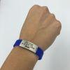 Pulsera de identificación IDOO Slim ID -Azul