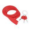Candado de Bicicleta - Knog - Party Coil 1300mm - Rojo