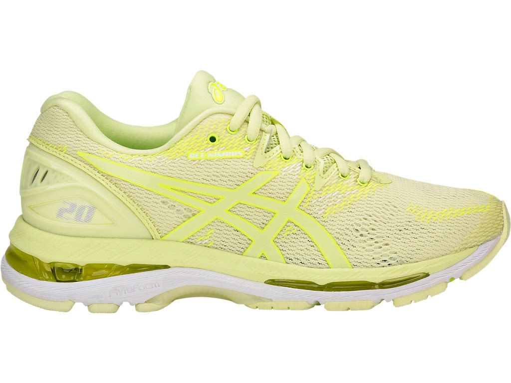 dc74d8aed88 Zapatilla - Asics - Gel Nimbus 20 - Limelight Limelight Safety Yellow -  Mujer