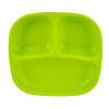 plato con divisiones Verde limon