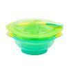 Bowl con succión Verde Turquesa