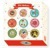 Stickers Aurelia Fronty, 100 unidades