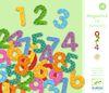 Set Magnetos;  38 números y signos de madera