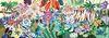 Puzzle Galeria, Rainbow tiger, 1000 pz