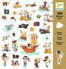 Sticker Piratas, 160 unidades