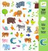 Sticker Animales, 160 unidades