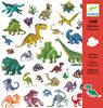 Sticker Dinosaurio, 160 unidades