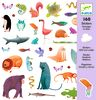 Sticker Animales salvajes, 160 unidades