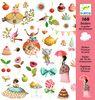 Sticker Princesa del té, 160 unidades