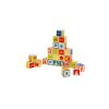 Set de cubos con letras, números y figuras