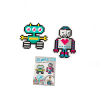 Jixelz 700 pc Set - Robots