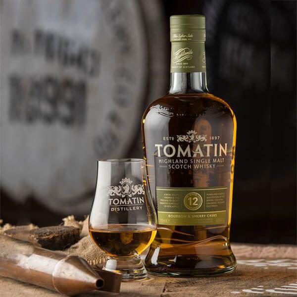 tomatin single malt pack whisky 12 anos vasos