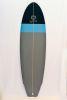 Surfboard HR California (Black/LightBlue/Grey)