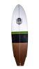 Surfboard HR California (Green/Black/Brown)