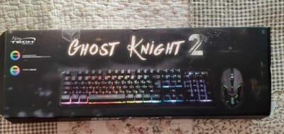 PACK GAMER TECLADO + MOUSE LIGHTING NJOY TECH