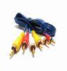 Cable rca 3x3 azul rst 3 mts Cod. 102178