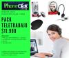 Pack Teletrabajo (Audifonos con Micrófono + Mouse Inalámbrico + Mouse Pad)