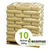 10 Bolsas Ecomas 18 KG
