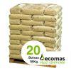 20 Bolsas Ecomas 18 Kg.