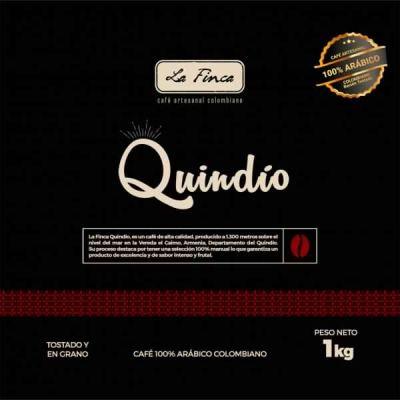 Café La Finca en Grano Quindio 1Kg