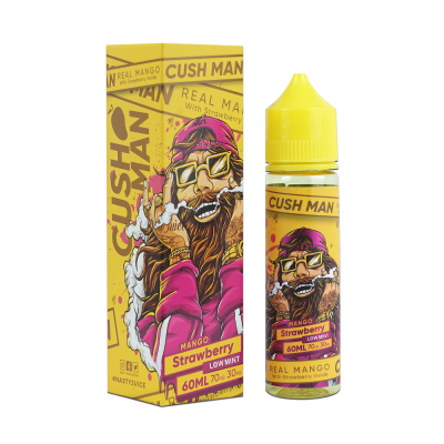 Cush Man Strawberry 60ml - Mango Frutilla