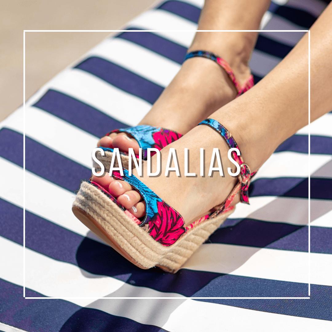 sandalias, verano, sandalias con taco, sandalias de yute