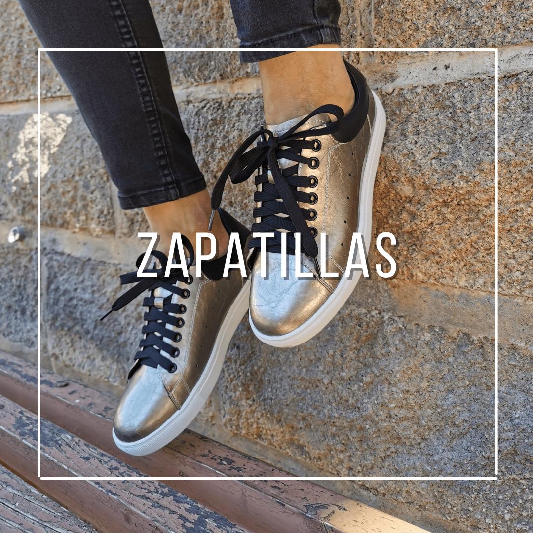 Zapatillas urbanas de mujer, hechas en cuero y muy cómodas