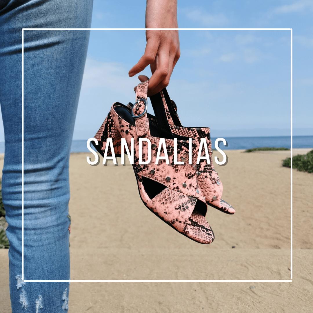Sandalias de verano, chalas, zapatos y modelos exclusivos para mujeres