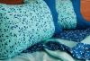 Juego de Sábanas 144 hilos Verde- Azul