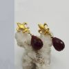 Aros flor de lis gold