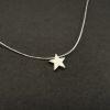 Collar silver star 8mm