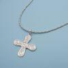 Collar cruz colonial