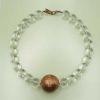 Collar cobre cristalium